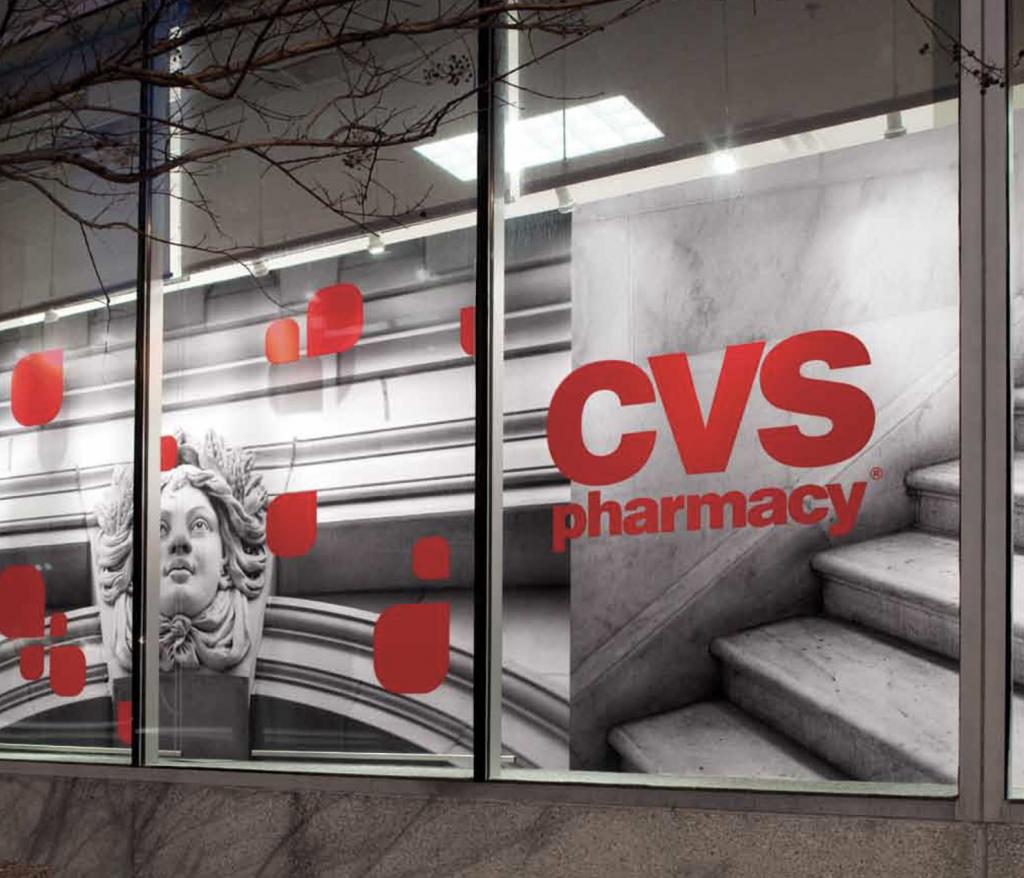CVS Store Window